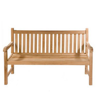 Straight Back 3 Seater Bench 150cm Trade Price From