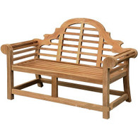 Lutyens garden bench - 165cm wide.