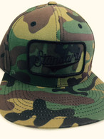 Standard Adjustable CAMO Trucker Hat w/ patch