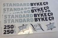 250 Series Frame Stickers