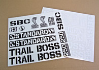 Vintage TrailBoss RE-ISSUE Sticker Pack