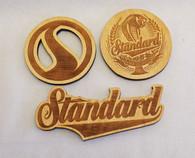 Standard Logo 3 Magnet Pack