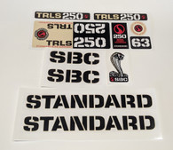 Vintage TRLS 250 Sticker Set