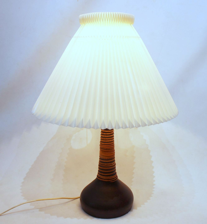 Le Klint Hermann Kahler Ceramic Cane Wrapped Lamp
