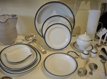 Vintage 12 Person Royal Copenhagen No 47 Dinner Set