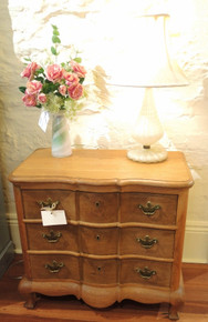 Vintage Danish Petite Chest of Drawers in French Oak