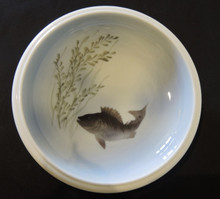 Vintage Royal Copenhagen Hand Painted Fish Bowl