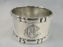 Antique Danish Silver Napkin Ring 1913.