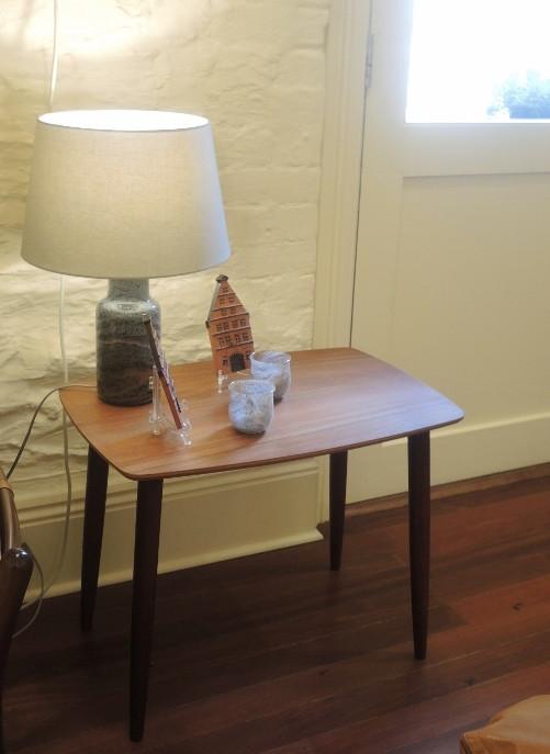 Mid Century Modern Danishteak Splay Leg Coffee Table