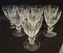 8 Danish Holmegaard Marselisborg White Wine glasses Jacob Bang