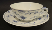 Antique Bing and Grondahl Sommerfugl Butterfly Tea Cup & Saucer #2