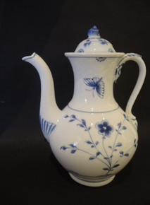 Antique Bing and Grondahl Sommerfugl Butterfly Coffee Pot