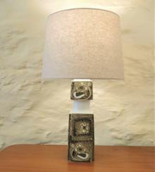 Vintage 29.5cm Royal Copenhagen Faience / Fog & Morup Baca Lamp