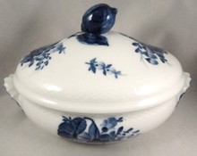 Royal Copenhagen Blue Flowers Braided lidded bowl or tureen.