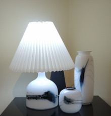 Holmegaard 'Lamp Art 1' Symmetrisk Table Lamp made in Denmark
