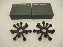 Vintage Danish Jens Harald Quistgaard for Dansk Designs Spider Candle Holders