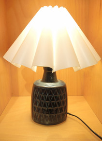 Vintage Danish Mid Century Modern Soholm Einar Johansen Blue Series Small Lamp