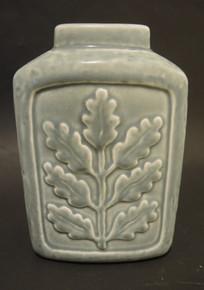 Vintage Gunnar Nyland Rorstrand Oak Leaf Vase Ekblad Sweden