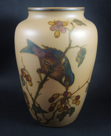 Art Deco Vintage 20cm Danish Hjorth Bird Vase