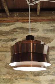 Vintage Mid Century Modern Swedish Pendant Light Carl Thore for Granhaga