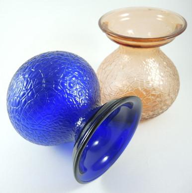 A Pair 1924 Danish Kastrup / Fyens Glassworks Hyacinth vases.