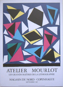 Vintage Matisse Exhibition Art Poster Artelier Mourlot Exposition d'Affiches