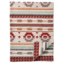 Brand New Klippan Lambswool Jacquard Arrow Blanket