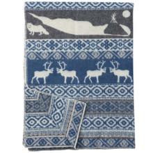 Brand New Klippan Lambswool Jacquard Sarek Blanket
