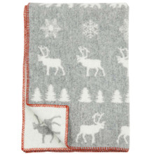 Brand New Klippan Childrens Eco Lambswool Wilderness Blanket