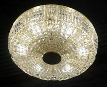 Vintage Swedish Orrefors Carl Fagerlund Cirrus Crystal Wall or Ceiling light