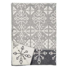 Brand New Klippan Eco Lambs Wool Blanket or Throw Tradition