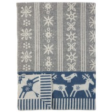 Brand New Klippan 100% Lambs Wool Blanket Lappland