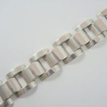 Antique 800 Solid Silver Austro Hungarian Bracelet Linz Pre 1922