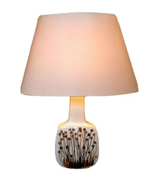 Royal Copenhagen Baca Faience Lamp Ellen by Malmer