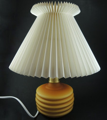 Vintage Le Klint 313 Ribbed Table Lamp Denmark with Shade