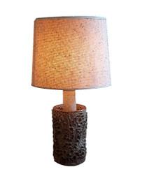 Hand Made Danish Pottery Lamp