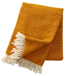 Brand New Klippan 100% Eco Lambs Wool Aubergine Ralph Blanket 130cm x 200cm