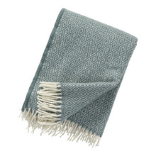 Brand New Klippan 100% Lambs Wool Cactus Stella Blanket 130cm x 200cm