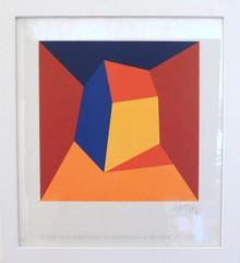 2005 Danish Modern Art Lithograph by Per Arnoldi