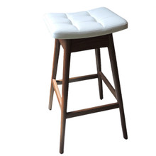 "New Australian T H Brown Solid Timber Bar Stool ""Martelle"""