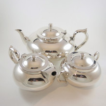 Vintage Australian 3 piece Robur Perfect Teapot Sugar Bowl Milk Jug Strachan