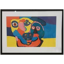 Karl Appel Faces Print Cobra Art