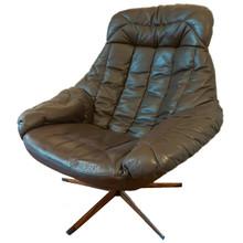 Vintage Danish Mid-Century Bramin Silhouette Chair designed by Henry Klein