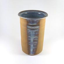Vintage Danish Ulsnes Studio Unique Art Pottery Stoneware Vase
