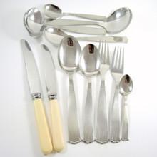 Vintage 1950's Danish Stainless Steel Globus Cutlery Set