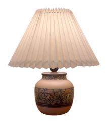 Hjorth Art Deco Pottery Lamp