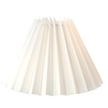17cm New White Pleated Danish Type Shade suit Mid Century Lamps