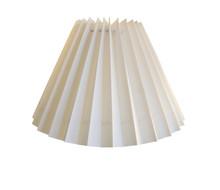 17cm New Cream Pleated Danish Type Shade suit Mid Century Lamps