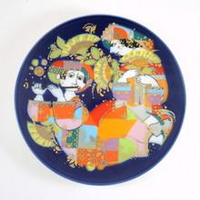 Vintage Rosenthal Studio Line Bjorn Wiinblad Aladdin Overture Plate 1