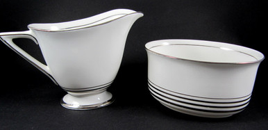 Art Deco Royal Doulton Royalty milk and sugar bowl